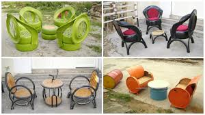 Furniture Recycling Upcycled Furniture From Old Tires Oil Drums U0026 Bike Parts U2022 Recyclart