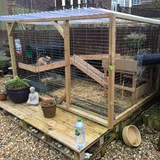 Rabbit Hutch Set Up Our Customers U2013 Runaround Rabbit And Guinea Pig Runs