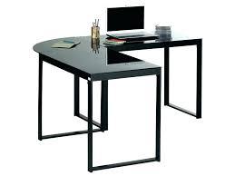 bureau angle verre noir petit bureau angle bureau angle verre noir bureau dangle blacky