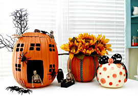 styrofoam pumpkins pumpkin decorating ideas using foam pumpkins cnn ireport