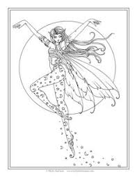 fairy mermaid coloring pages free mermaid coloring page by molly harrison fantasy art