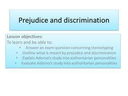 stereotyping prejudice u0026 discrimination by dunld001 teaching