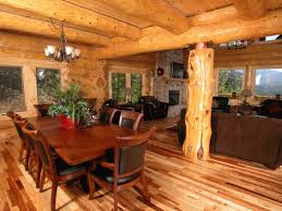 Cool Log Homes Appealing Faux Log Cabin Paneling Interior With Exotic Wood