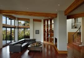 country house design living room design in modern country house interior in canada by