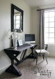 desk for living room living room desk ideas wood sawhorse desk living room built in