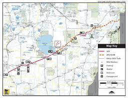Wisconsin Atv Trail Map by Maps Eastern Morrison County Atv Club