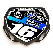 custom motocross helmet box custom bmx plate u0027racer blue u0027 rival ink design co custom