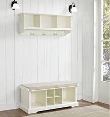 Storage Benches For Hallways Bench Hall Tree Storage Bench With Baskets Hall Tree Storage