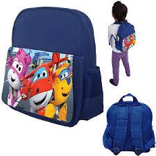 super wings harika kanatlar kids personalised nursery bag