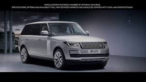 land rover defender 2019 2019 land rover range rover phev youtube