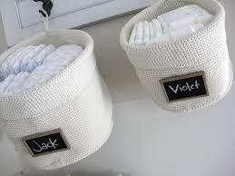 panier rangement chambre bébé panier rangement original en 25 idées jolies et pratiques