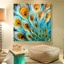 wall art designs peacock wall art wall art painting home decor