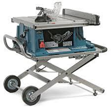 makita portable table saw makita 2705x1 portable tablesaw finewoodworking