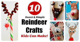 Kids Reindeer Crafts - reindeer crafts archives letters from santa blogletters from