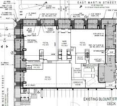 floor plan for office edison office shows site plan for 225 u2032 tower
