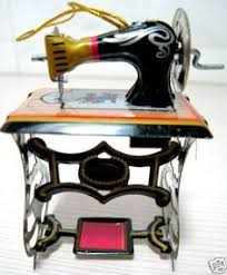world ornament sewing machine 18 world