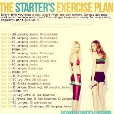 easy workout plans at home these are quick and simple could do a few days worth during