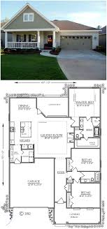 house plans bungalow bungalow country craftsman southern house plan 74755 porch