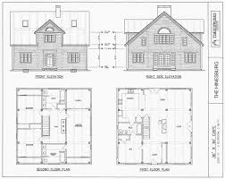 Post & Beam House Plans and Timber Frame Drawing Packages by