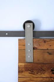 Reclaimed Barn Door Hardware by Reclaimed Barn Wood Doors A Custom Garage Door Constructed From