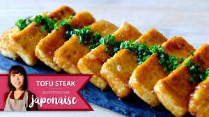 recette cuisine japonaise facile recette tofu steak les recettes d une japonaise cuisine facile