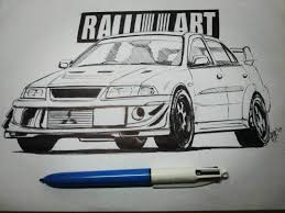 mitsubishi lancer drawing images tagged with hegaro on instagram