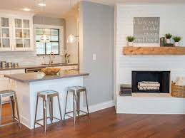 fixer the raggedy ranch and the rocket scientist joanna Kitchen Half Wall Ideas