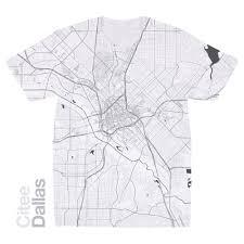 Dallas Tx Map Citee Fashion Dallas Tx Map T Shirt
