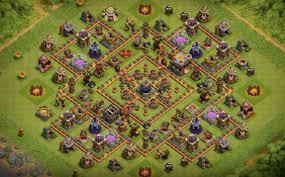 Coc Maps 12 Base Layouts For 2017 Farming Pushing Clan War Th8 To Th11