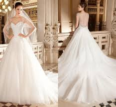 sparkly ball gown wedding dresses sweetheart neckline with sheer