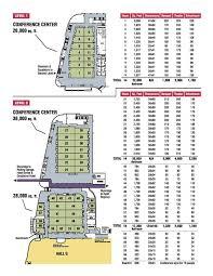 facility floor plan floor plan facility des convention center