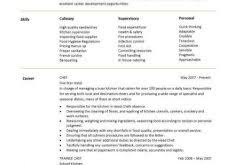 Chef Resume Samples by Download It Resume Sample Haadyaooverbayresort Com