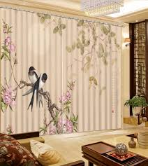 online get cheap curtains birds aliexpress com alibaba group