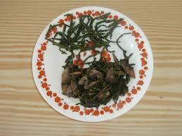 cuisiner la salicorne les recettes chouettes de sissi salicorne et champignons de