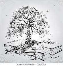 tree knowledge stock vector 715037935
