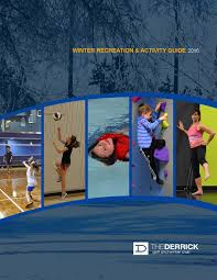 the derrick club winter 2016 program guide by the derrick golf and