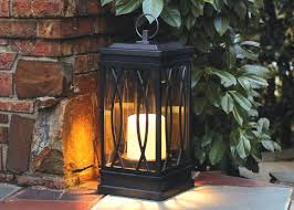 solar garden lights home depot light your landscape with style garden club