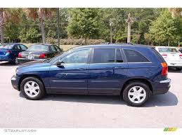 2005 midnight blue pearl chrysler pacifica touring 15126603 photo