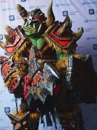 Wow Halloween Costumes Orc Orc Warrior Fantasy Characters Rpg