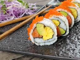 cuisine japonaise calories vegetarian sushi recipe tasty low calorie meal recettes et