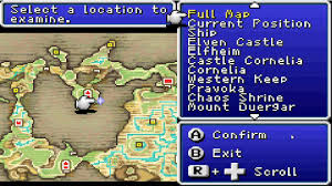 Final Fantasy 2 World Map by Final Fantasy 1 Episode 8 Mini Map Thou Art My Saviour Youtube