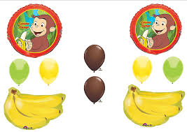 curious george birthday party curious george birthday party balloons decorations