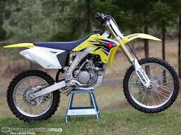 250cc motocross bikes 2007 suzuki rm z250 shootout photos motorcycle usa
