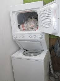 Discount Frigidaire Ffle4033qw 9 3 Cu Ft White Electric Washer Dryer Combo Washer Frigidaire Electric Dryer Parts Model Faqe7077kw0 Sears