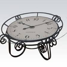 Clock Coffee Table by Eddie Bauer Clock Coffee Table Coffee Tables Clock Coffee Table In