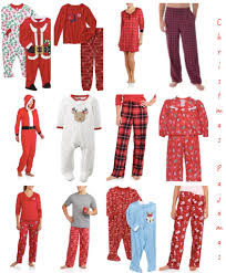 cheap christmas pajamas for whole family mommematch