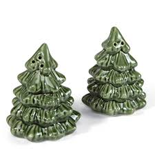 miniature christmas trees miniature christmas tree salt and pepper shakers