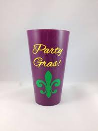 mardi gras cups large 23 6 oz mardi gras cup personalized on etsy 20 00 mardi