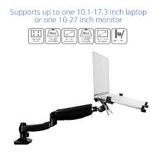 l01 desk laptop mount for 11 u2033 15 6 u2033 u2013 fleximounts