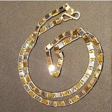 mens solid gold necklace images Mens solid gold chain jpg
